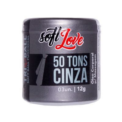 SOFT BALL 50 TONS DE CINZA TRI BALL SOFT LOVE